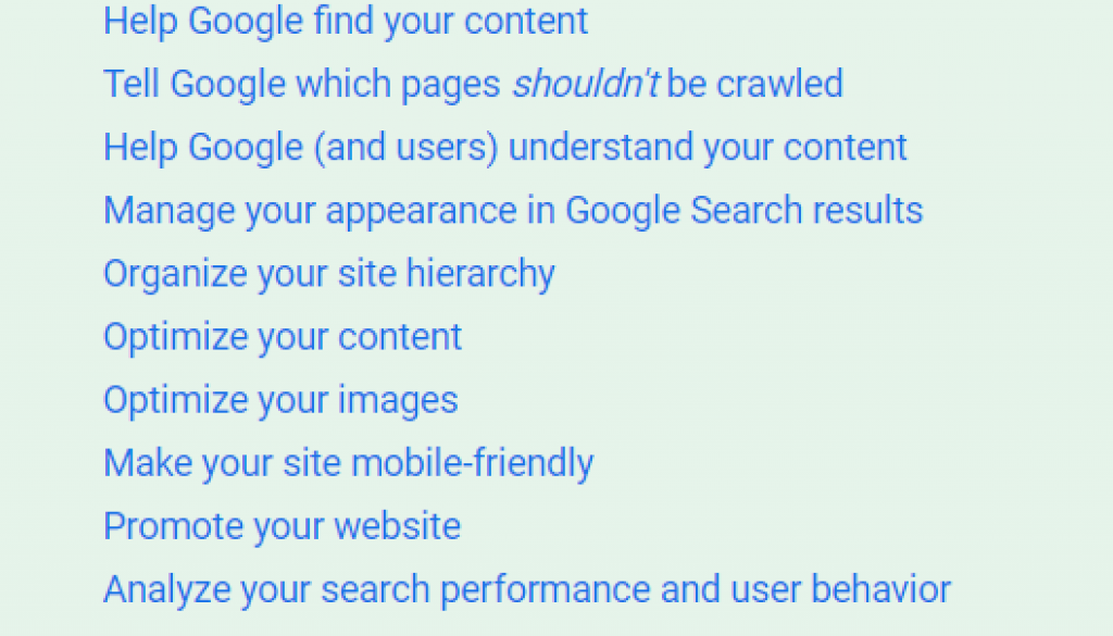 Writing to rank in search engine