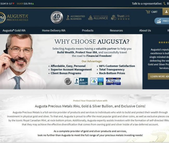 Augusta Precious Metals Today Get Over $15,6k FREE Traffic Each Month