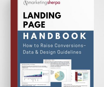 Landing Page Optimization: Initial MarketingSherpa Landing Page Handbook now offered totally free download