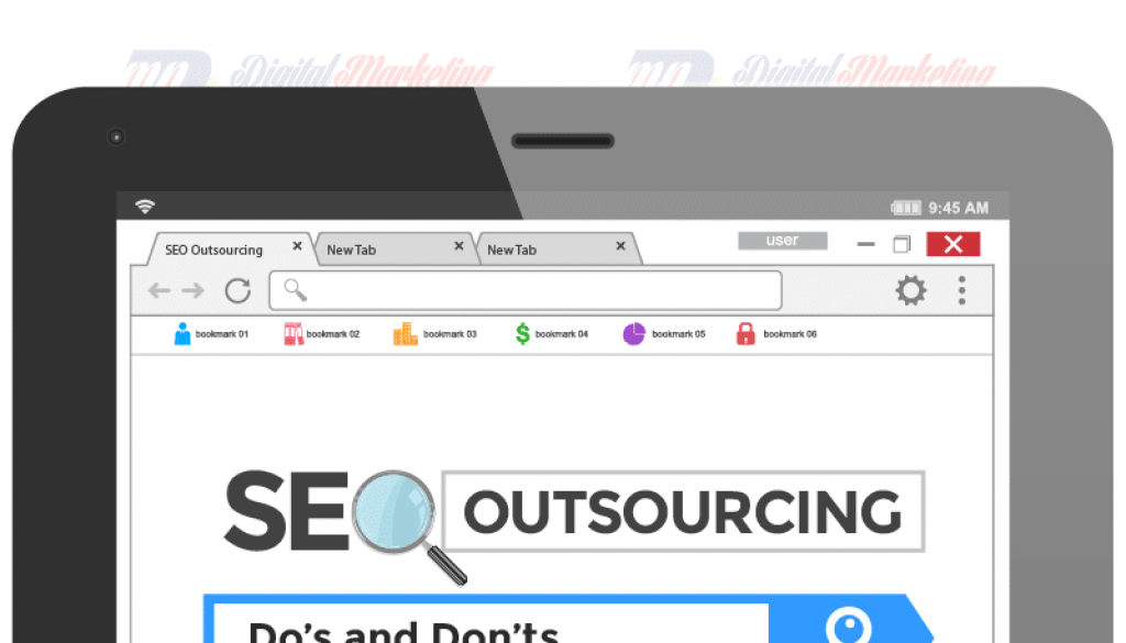 SEO Outsourcing– Dos and Do n'ts [Infographic]