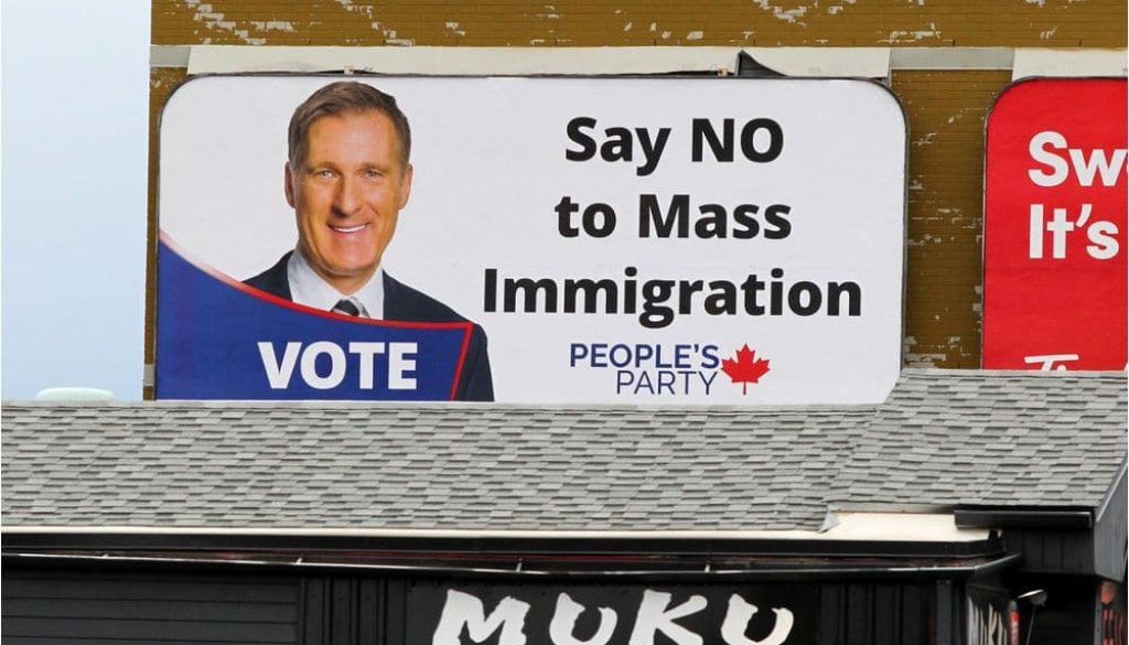 'Very racist and hurtful': Groups denounce anti-immigration billboard seen in Calgary, across Canada – Calgary Herald
