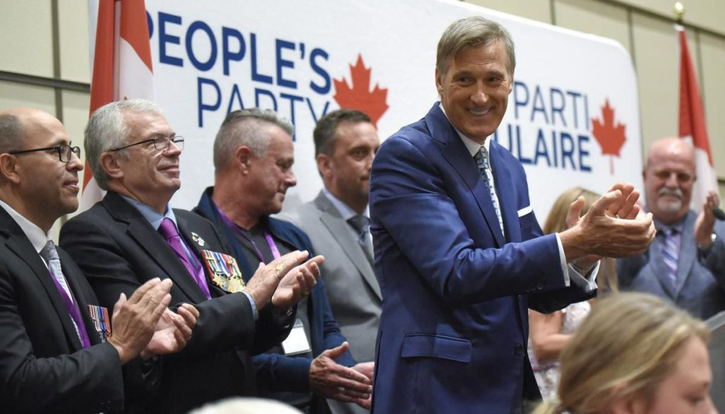 Bernier tries to walk line between libertarianism and identity politics at PPC's first national convention