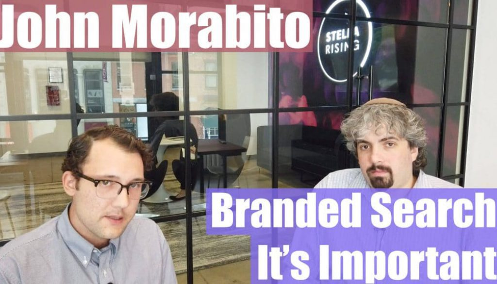 Video: John Morabito on revealing chances in top quality search